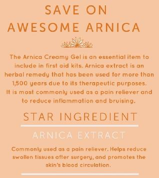 /swiss JUST Arnica