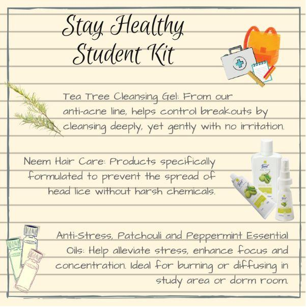 SwissJust Stay Healthy Student Kit