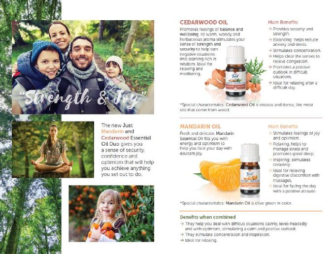 Mandarin Cedarwood Benefits