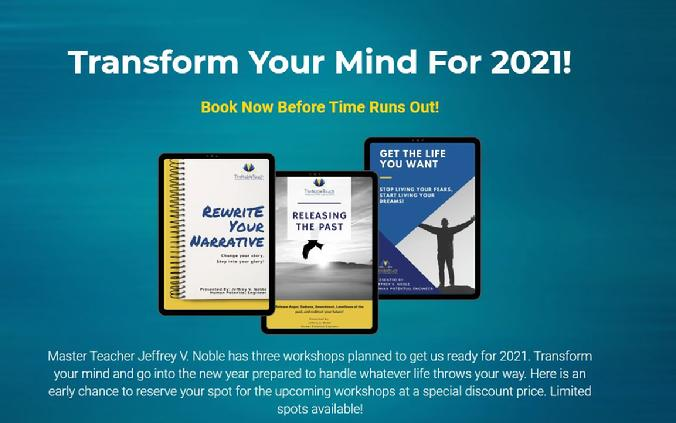 Transform Your Mind For 2021